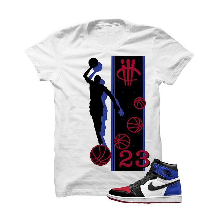 Jordan 1 Top 3 White T Shirt (Mj 23) - illCurrency Matching T-shirts For Sneakers and Sneaker Release Date News - 1