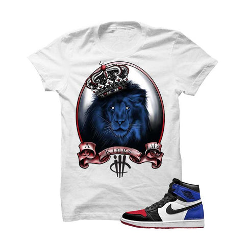 Jordan 1 Top 3 Black T Shirt (See No Evil)
