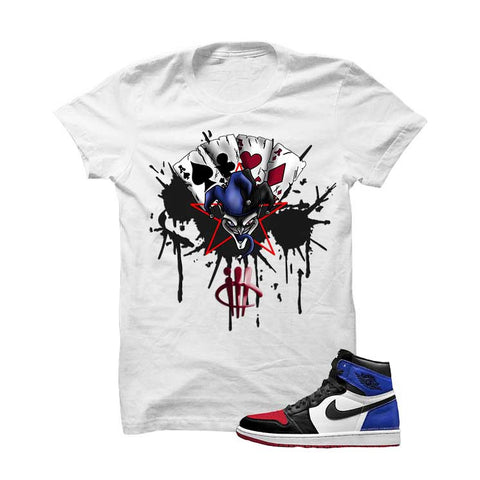 Jordan 1 Top 3 Black T Shirt (Targets)