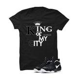 Foamposite Pro Dr. Doom Black T Shirt (King Of My City) - illCurrency Matching T-shirts For Sneakers and Sneaker Release Date News - 1
