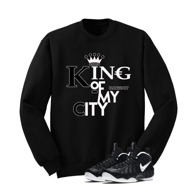 Foamposite Pro Dr. Doom Black T Shirt (King Of My City) - illCurrency Matching T-shirts For Sneakers and Sneaker Release Date News - 2