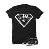 Foamposite Pro Dr. Doom Black T Shirt (ill Superman) - illCurrency Matching T-shirts For Sneakers and Sneaker Release Date News - 1