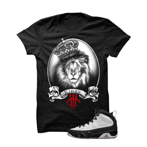 Jordan 9 Og True Red Black T Shirt (Ride)