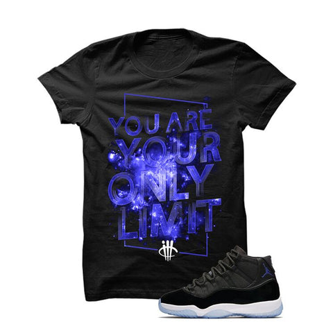 Jordan 11 Space Jam Black T Shirt (Limit)