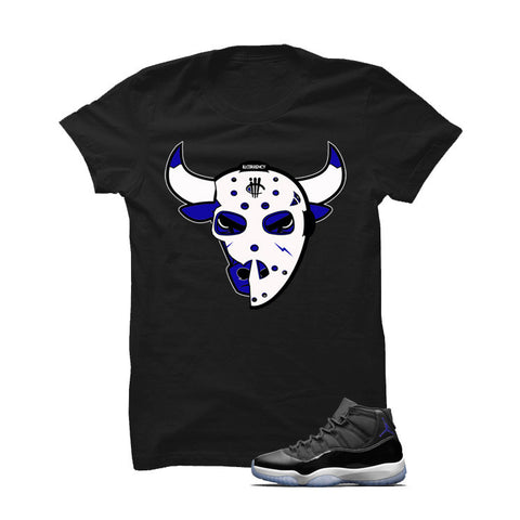 Jordan 11 Space Jam Black T Shirt (Jason Bully)