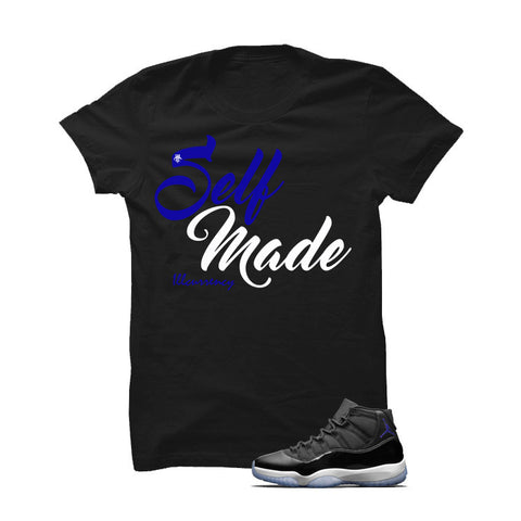 Jordan 11 Space Jam Black T Shirt (Self Made)