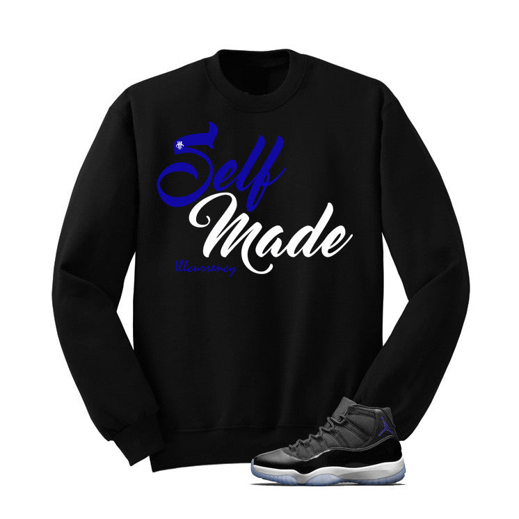 Jordan 11 Space Jam Black T Shirt (Self Made) - illCurrency Matching T-shirts For Sneakers and Sneaker Release Date News - 2