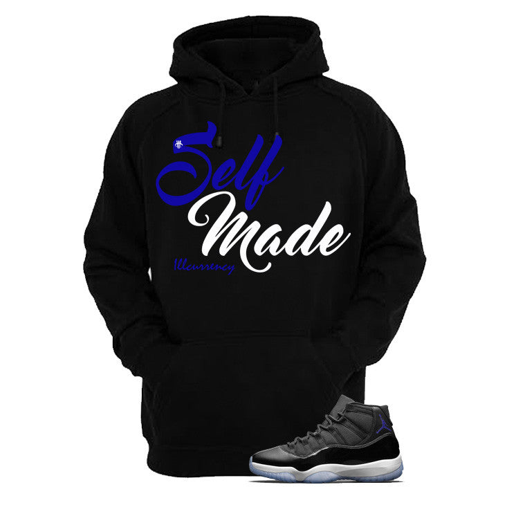 Jordan 11 Space Jam Black T Shirt (Self Made) - illCurrency Matching T-shirts For Sneakers and Sneaker Release Date News - 3