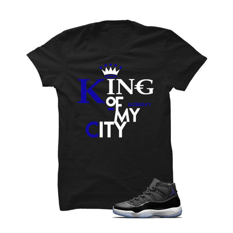 Jordan 11 Space Jam Black T Shirt (King Of My City)