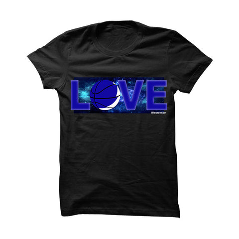 Jordan 11 Space Jam Black T Shirt (Love)