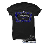 Hennything can happen when paired with your Jordan 11 Space Jam sneakers.