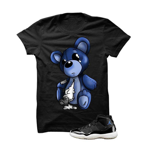 Jordan 11 Space Jam Black T Shirt (Teddy Bear)