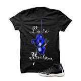 Jordan 11 Space Jam Black T Shirt (Love Hurts) - illCurrency Matching T-shirts For Sneakers and Sneaker Release Date News - 1