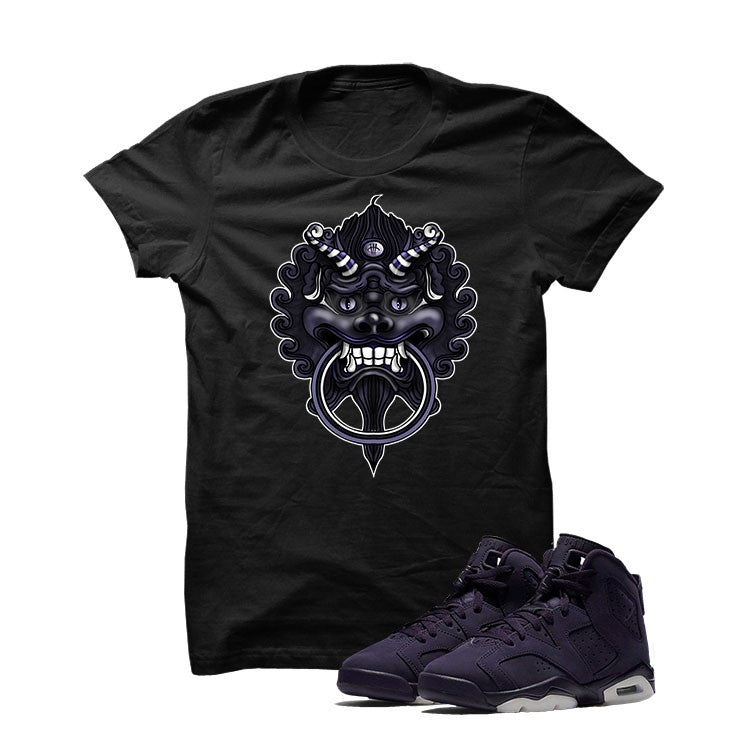 Jordan 6 Gs Dark Purple Black T Shirt (Dragon) - illCurrency Matching T-shirts For Sneakers and Sneaker Release Date News - 1