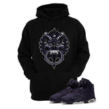 Jordan 6 Gs Dark Purple Black T Shirt (Dragon) - illCurrency Matching T-shirts For Sneakers and Sneaker Release Date News - 3