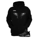 Jordan 6 Black Cat Black T Shirt (Black Cat) - illCurrency Matching T-shirts For Sneakers and Sneaker Release Date News - 3