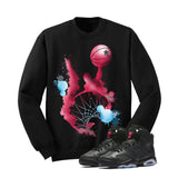 Jordan 6 Gs Hyper Pink Black T Shirt (Slam Dunk) - illCurrency Matching T-shirts For Sneakers and Sneaker Release Date News - 2
