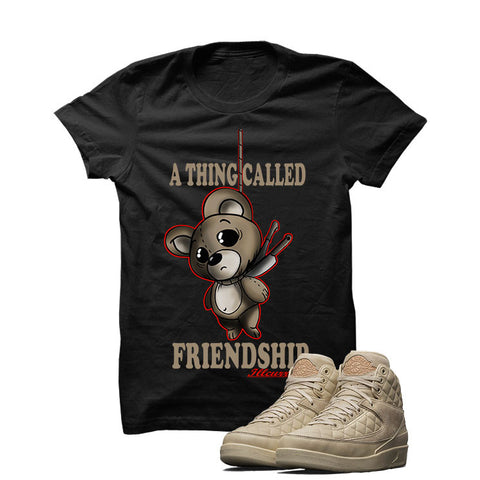 Jordan 2 Don C X Beach White T Shirt (A Thing Called Friendship)