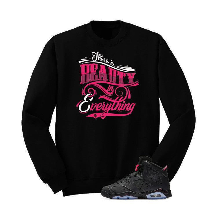 Jordan 6 Gs Hyper Pink Black T Shirt (Beauty) - illCurrency Matching T-shirts For Sneakers and Sneaker Release Date News - 2
