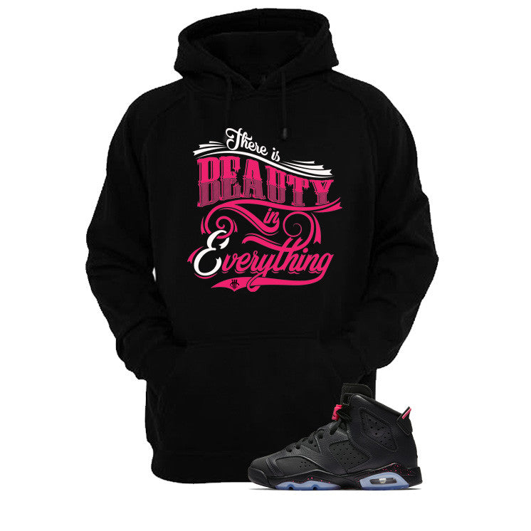 Jordan 6 Gs Hyper Pink Black T Shirt (Beauty) - illCurrency Matching T-shirts For Sneakers and Sneaker Release Date News - 3