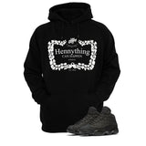 Jordan 13 Black Cat Black T Shirt (Henny) - illCurrency Matching T-shirts For Sneakers and Sneaker Release Date News - 3