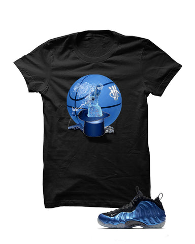 Foamposite One Og Royal White T Shirt (Aces)
