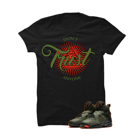 Jordan 8 Undefeated Black T Shirt (Pac)