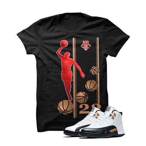 Jordan 12 Chinese New Year Black T Shirt (Mj)