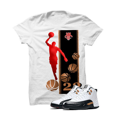 Jordan 12 Chinese New Year White T Shirt (Mj)