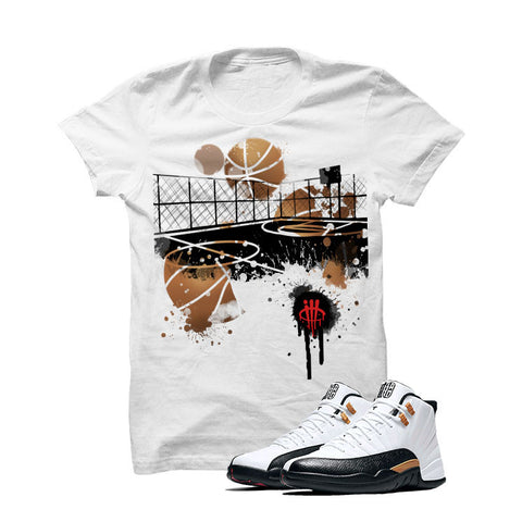 Jordan 12 Chinese New Year White T Shirt (B Court)
