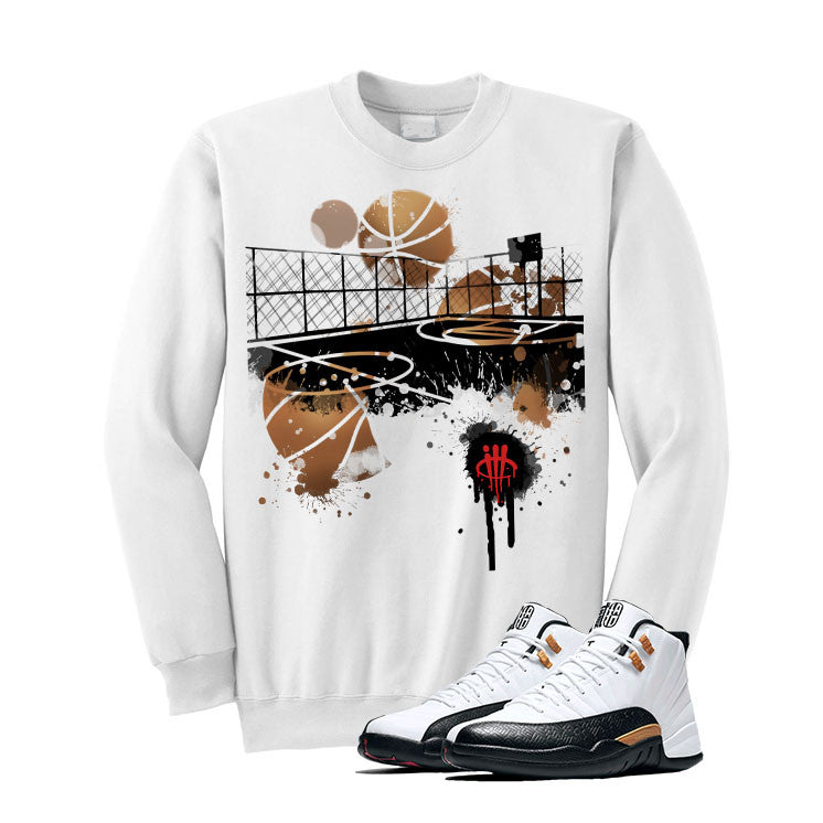 Jordan 12 Chinese New Year White T Shirt (B Court) - illCurrency Matching T-shirts For Sneakers and Sneaker Release Date News - 2