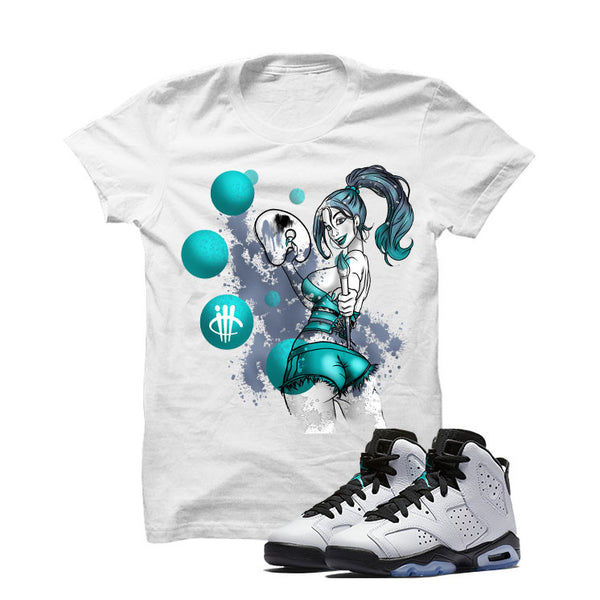Jordan 6 Gs Hyper Jade - Official Matching Shirts