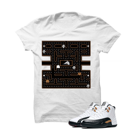 Jordan 12 Chinese New Year White T Shirt (Pacman)