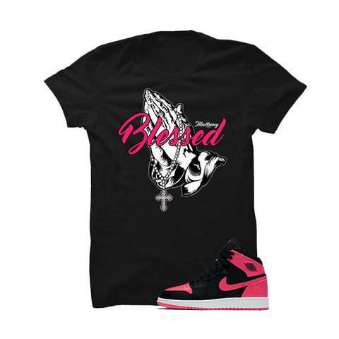 Jordan 1 Retro High Serena Williams Black T Shirt (Strong Women)