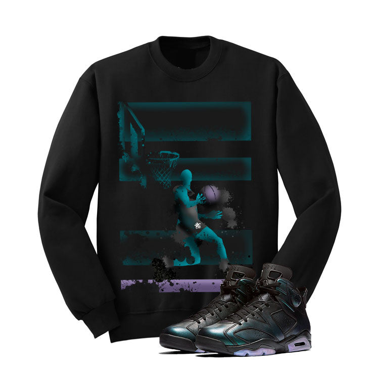 Jordan 6 All-Star Black T Shirt (Reverse Dunk) - illCurrency Matching T-shirts For Sneakers and Sneaker Release Date News - 2