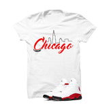Jordan 13 Chicago White T Shirt (Chicago) - illCurrency Matching T-shirts For Sneakers and Sneaker Release Date News - 1