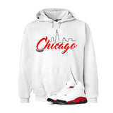 Jordan 13 Chicago White T Shirt (Chicago) - illCurrency Matching T-shirts For Sneakers and Sneaker Release Date News - 3