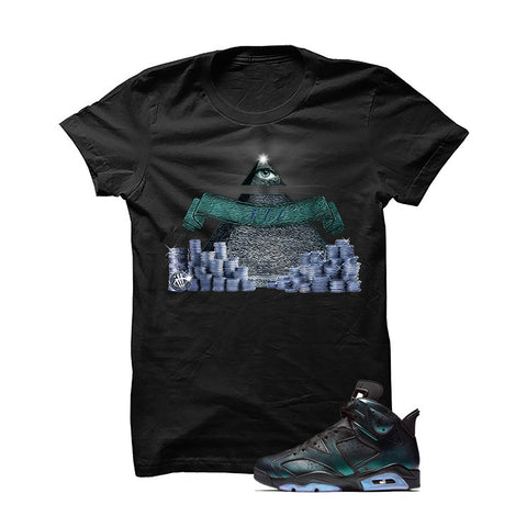 Jordan 6 All-Star Black T Shirt (Game Plan)