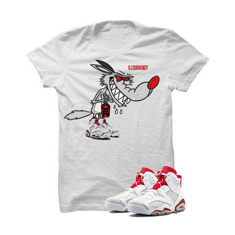 Jordan 6 Alternate White T Shirt (Royalty)