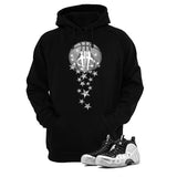 Foamposite Pro Silver Surfer Black T Shirt (Magic Ball)