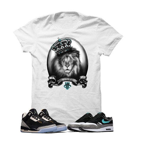 Atmos X Nike/Jordan Pack White T Shirt (A Kings Life)
