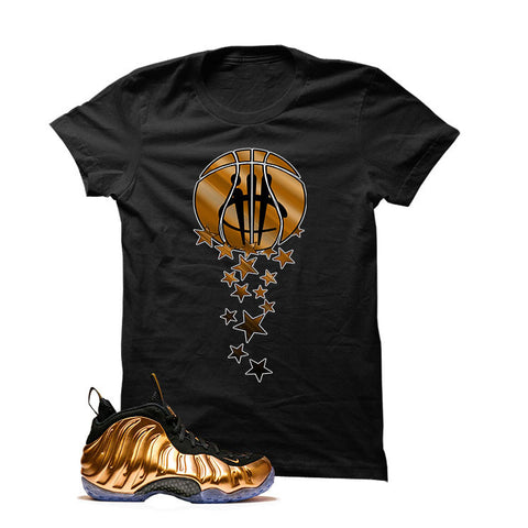 Foamposite One Copper Black T Shirt (Magic Ball)