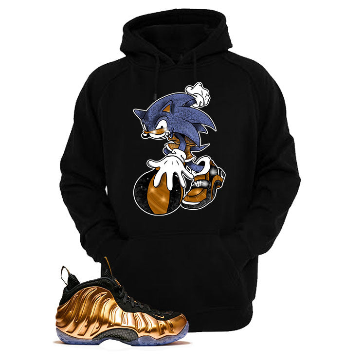 Foamposite One Copper Black T Shirt (Sonic)