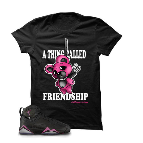 Jordan 7 Gs Hyper Pink Black T Shirt (Friendship)