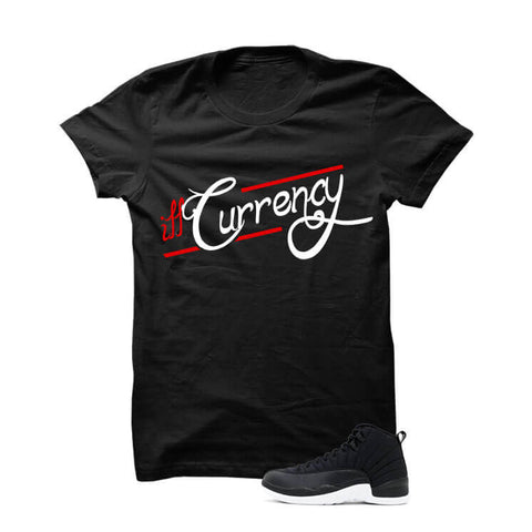Jordan 12 Black Nylon Black T Shirt (illcurrency)