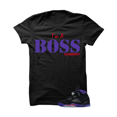 Jordan 5 Gs Raptors Black T Shirt (Haters Gonna Hate)