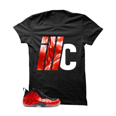 Nike Air Foamposite One Metallic Red Black T (Icon)