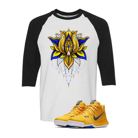 Nike Kyrie 3 Mac and Cheese Kids White & Black Baseball T (LOTUS)