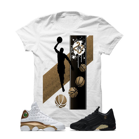 Jordan 13/14 Defining Moments Pack White T Shirt (MJ)