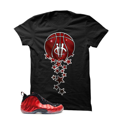 Nike Air Foamposite One Metallic Red Black T (Magic Ball)